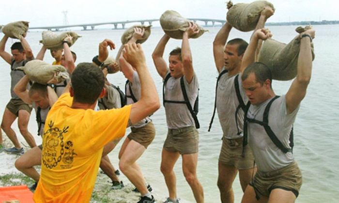 SGT H2O's Aquatic Boot Camp - CISD Aquatics Center: Army Diver Fitness Challenge for One, Two, or Four on November 9 from Sgt. H2O's Aquatic Boot Camp (Up to 53% Off)