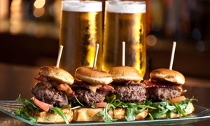 The Bunker Sports Bar and Grill: Function Package for 20 ($99), 40 ($149), or 80 Guests ($199) at The Bunker Sports Bar and Grill, CBD (Up to $460 Value)