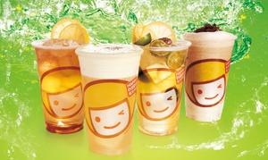Happy Lemon: Bubble Tea for Two or Four at Happy Lemon