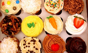 In the Mix Bakery: One Dozen Rum Balls or One or Two Dozen Cupcakes at In the Mix Bakery (Up to 52% Off)