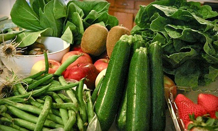 Natural Farms - Central Park: $40 for a One-Year Co-Op Membership and Bag of Seasonal Produce or Pasture-Fed Meats at Natural Farms ($80 Value)