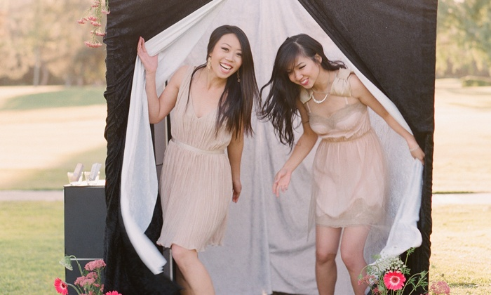Pink Shutter Photobooths - Fort Worth: Three-Hour Pink Shutter Starter or Starter Plus Package from Pink Shutter Photobooths (53% Off)