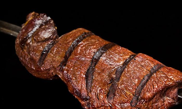 Samba Brazilian Steakhouse - Universal City - Universal City: All-You-Can-Eat Sunday Brunch with Bottomless Champagne for Two or Four at Samba (30% Off)
