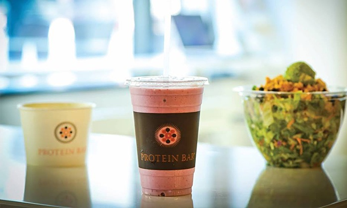 Protein Bar - Boulder: $10.50 for Three Groupons, Each Good for $7 Worth of Healthy Food and Juices at Protein Bar ($21 Value)