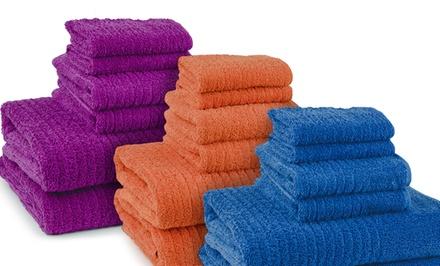 100% Cotton 6-Piece Bath Towel Set