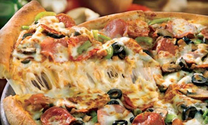 Papa John's - Multiple Locations: $14 for Extra-Large Specialty Pizza or Pizza with Up to Five Toppings and a 2-Liter Soda (Up to $27.89 Value)