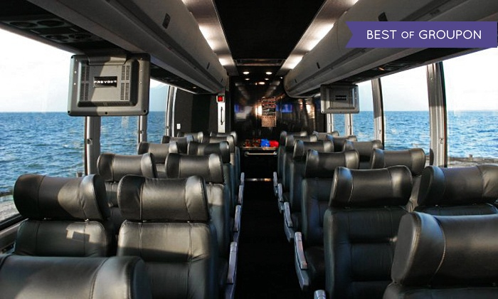 Hampton Luxury Liner - Multiple Locations: $165 for an All-Day Music-and-Wine Tour for Two from Hampton Luxury Liner ($370 Value)