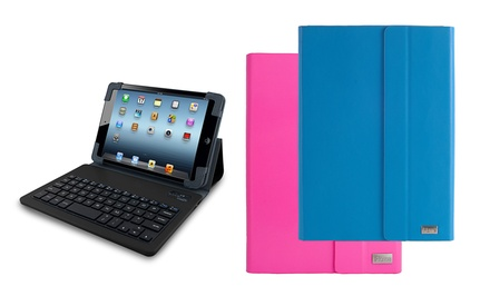 iHome Slim Bluetooth Keyboard Case for iPad 2/3/4/Air or Mini