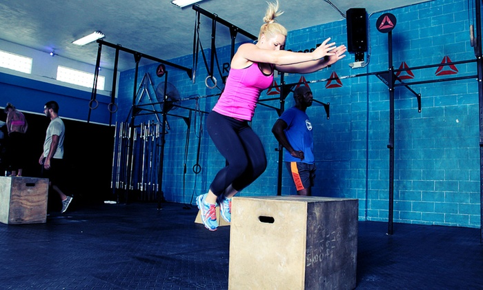 Reebok Crossfit Miami Beach - West Avenue: $71.99 for One Month of Unlimited CrossFit Classes at Reebok CrossFit Miami Beach ($185 Value)