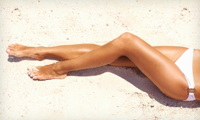 SpaForever - Bucktown: Six Laser Hair-Removal Treatments for One Small or Medium Area at SpaForever (Up to 87% Off)
