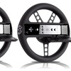 2 Rubberized-Finish Racing Wheels for Nintendo Wii and Wii U