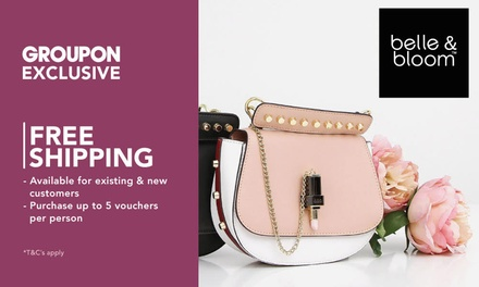 Belle & Bloom: $5 to Spend Online on Fashion Items $99 Min Spend + Free Shipping