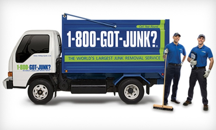 1-800-Got-Junk? - North Columbia: One Sixth, Quarter, or Half of a Truckload of Junk Removal from 1-800-GOT-JUNK? (Up to 77% Off)