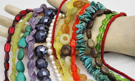 Basic Jewelry Making Class for One, Two, or Four at Meant to Bead (Up to 60% Off)
