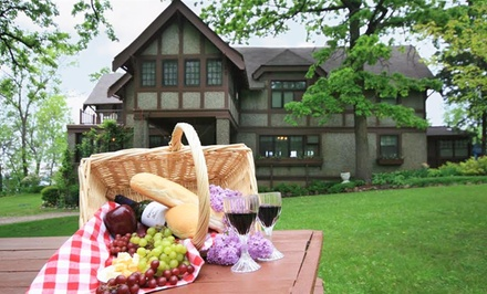 groupon daily deal - Stay with Optional Murder Mystery Dinner at Spicer Castle Inn in Spicer, MN. Dates Available into March.