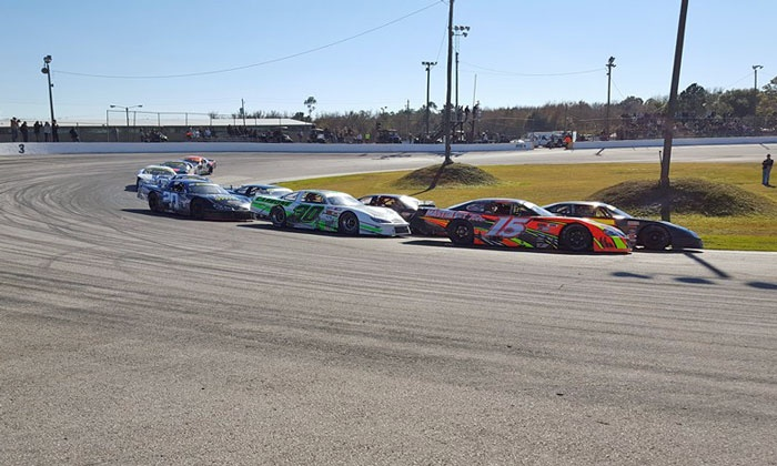 Luck of the Irish Night and 5,000 Easter Egg Dash - Auburndale Speedway: Auburndale Speedway: Stock-Car and Feature Races or a Celebrity Experience on March 12 or April 16