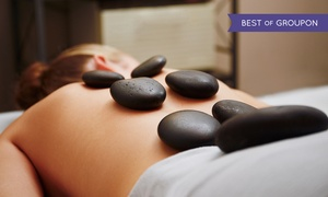 Green Leaf Massage Therapy: $75 for a 90-Minute Massage with Hot Stones and Foot Scrub at Green Leaf Massage Therapy ($130 Value)