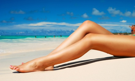 Waxing at Renue Spa Nails & Esthetics (Up to 51% Off). Four Options Available.