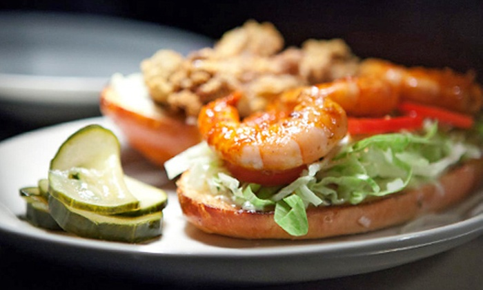 Icehouse - Whittier: $17 for Pub Lunch and Indeed Beer for Two at Icehouse (Up to $40 Value)