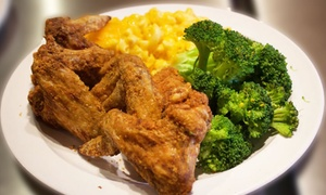 Up to 40% Off Soul Food at Paula's Soul Cafe