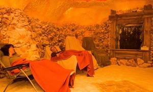 Oasa Salzgrotte: 20 Minuten Solenebel-Kabine für 2 Personen oder Salzgrotten-Aufenthalt in der Oasa Salzgrotte ab 9,90 €