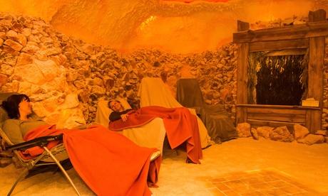 20 Minuten Solenebel-Kabine für 2 Personen oder Salzgrotten-Aufenthalt in der Oasa Salzgrotte ab 9,9
