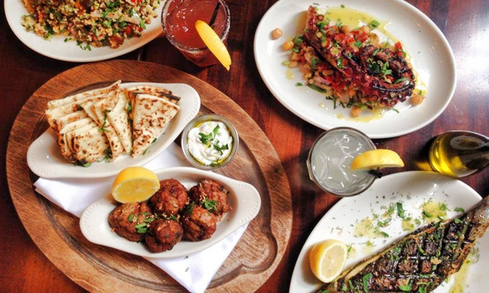 Kefi - Upper West Side: Greek Dinner with Appetizers, Sides, Entrees, and Desserts for Two or Four at Kefi (Up to 31% Off)
