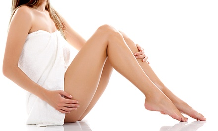 Six Laser Hair-Removal Treatments for a Small, Medium, Large, or Extra-Large Area from Dr. Joanna DeLeo (Up to 85% Off)