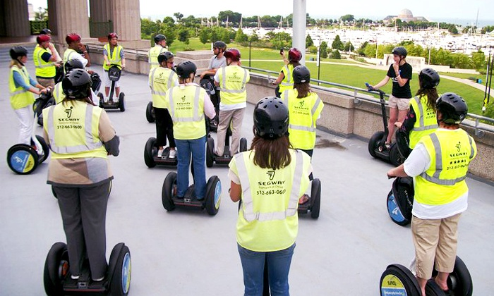 Segway Experience of Chicago - The Loop: $37 for a Two-Hour Segway Tour of Downtown Chicago from Segway Experience of Chicago (Up to $65 Value)
