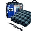 Plaid Print Electric Blanket for Automobiles