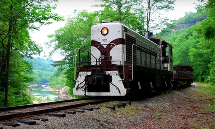 Big South Fork Scenic Railway - Stearns: Scenic Mountain Train Ride for Two or Four from Big South Fork Scenic Railway (Up to 53% Off)
