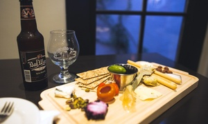 Bad Water Brewing Taproom: Two Four-Beer Flights and One Charcuterie Board or Two Beers & Two Paninis at Bad Water Brewing (Up to 46% Off)