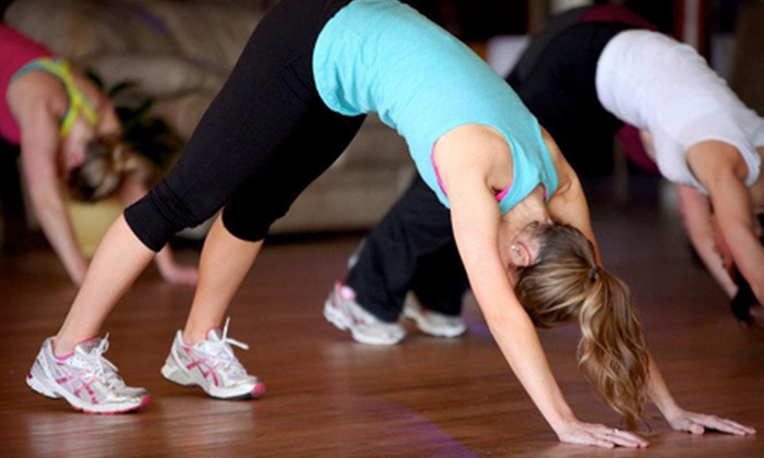 Glaza Studio - Downtown,East Fort Des Moines,Downtown Farmers Market: $49 for 10 Dance-Fitness Classes at Glaza Studio ($150 Value)