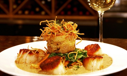 Upscale Dinner for Two or Four at Kinley's Restaurant & Bar (Up to 50% Off)