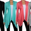 Women's Draped Spring Cardigan