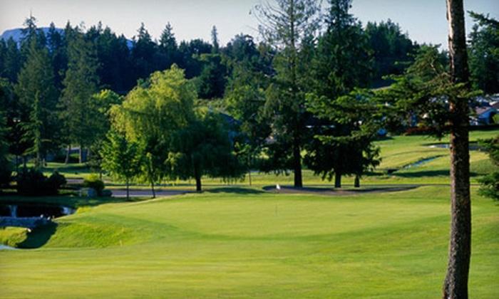 Arbutus Ridge Golf Club - Cobble Hill: $30 for an 18-Hole Round of Golf at Arbutus Ridge Golf Club (Up to $66.08 Value)