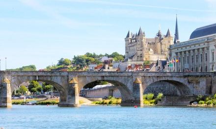 Saumur: 1 à 2 nuits avec Pdj, Spa, visite de cave et dégustation de vin en option aux Terrasses de Saumur pour 2 ou 4