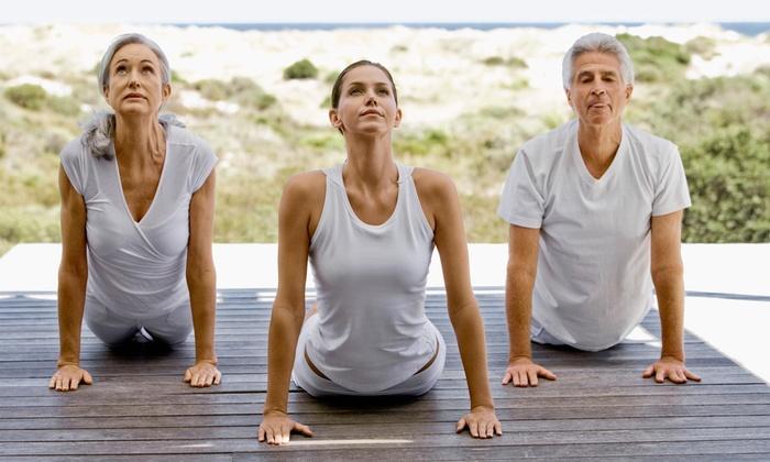 Auburn Yoga Studio - North Auburn: Four Yoga Classes at Auburn Yoga & Fitness (70% Off)