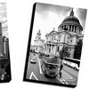 "24""x36"" World Destinations Black-and-White Canvas Prints"