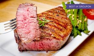 Oaki Steakhouse: Pan-Asian Food for Two or Four at Oaki Steakhouse (40% Off)