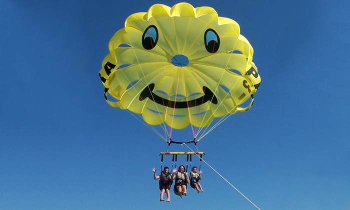 Paradise Parasail - Fort Myers Beach: Parasail Ride for Two from Paradise Parasail (Up to 29% Off)