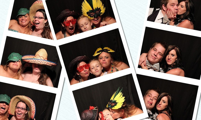 Pics-N-Poses - Arnold: Three- or Four-Hour Photo-Booth Rental from Pics-N-Poses (Up to 55% Off)