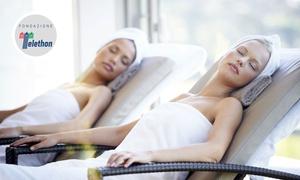 Roman Sport City Spa: Percorso Spa di coppia con scrub viso e corpo e massaggio da 30 minuti alla Roman Sport City Spa (sconto fino a 69%)