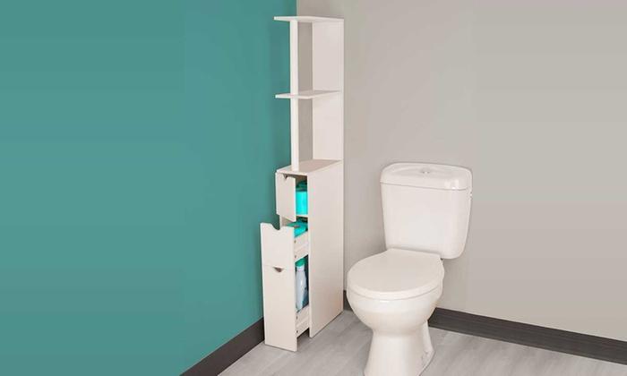 Mobile con mensole da bagno groupon for Mensole x bagno