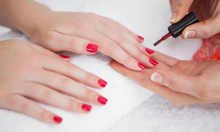 Angelic Nails Spa - Tamarac: One or Three Gel Manicures at Angelic Nails Spa (Up to 47%Off)