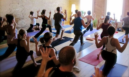 5 or 10 Yoga Classes at Yoga Ward (Up to 54% Off)