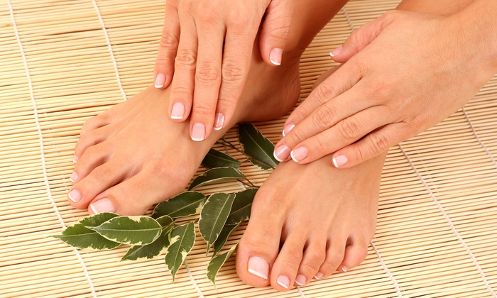 J's Nail & Spa - St Louis: One or Two Spa Mani-Pedis at J's Nail & Spa (Up to 55% Off)