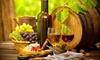 Dégustation de vins entre amis