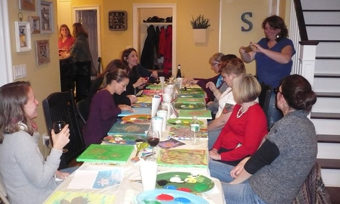 The Traveling Art Factory - Fairfield County: $25 for $45 Groupon at The Traveling Art Factory
