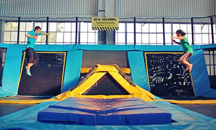House of Air - San Francisco: Trampoline Park Visit for 2, 4, or 10 at House of Air (Up to 41% Off)